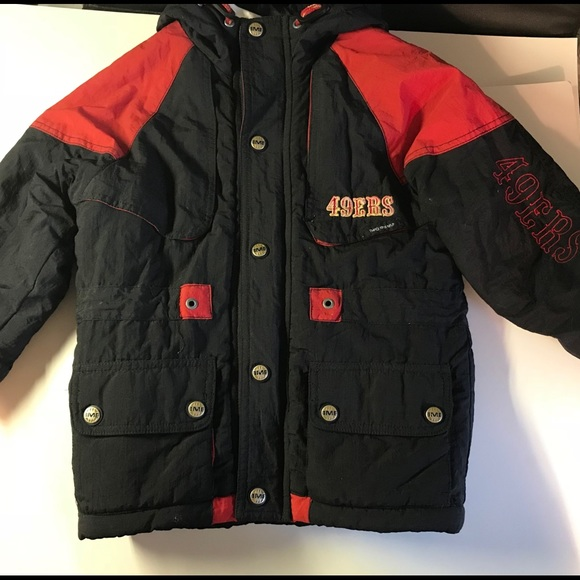 new style 211c7 f0cb3 Youth San Francisco 49ers jacket 5 to 6 years old